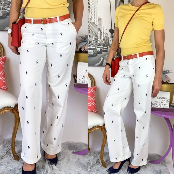 34a034a3bb POLO Ralph Lauren Pants With Horses All Over